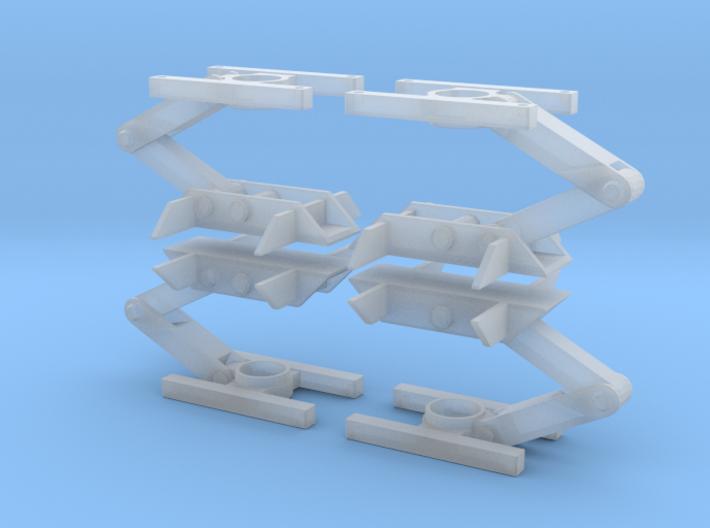 "23"" Eagle Gear Set Option B 3d printed"