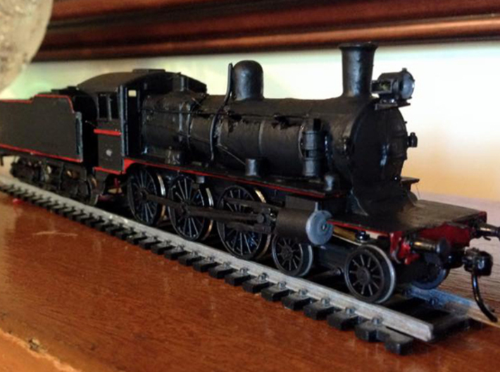 D3 steam loco body kit 3d printed