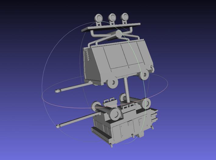 1/144 Ground Equipment Set 3 3d printed
