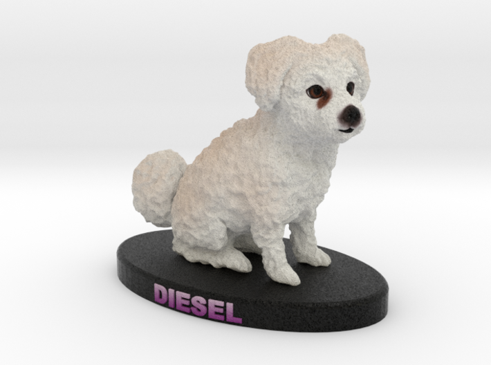 Custom Dog Figurine - Diesel 3d printed
