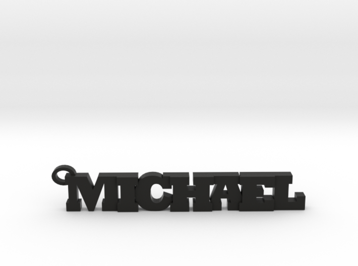 Michael Keychain (Pendant) 3d printed