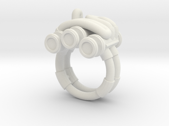 Piston Ring 3d printed