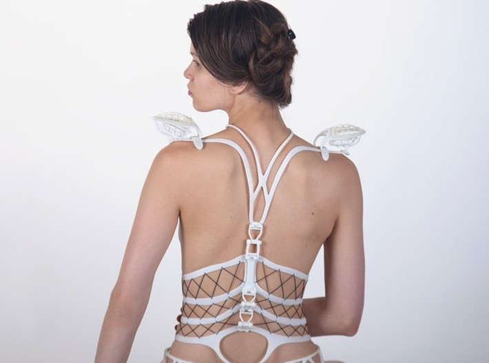 Seed Of Life corset 3d printed
