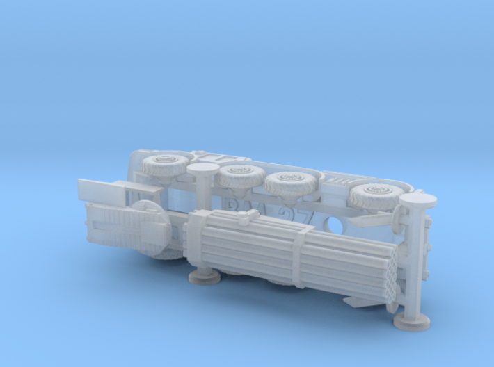 BM 27 Uragan MRLS 1/200 3d printed