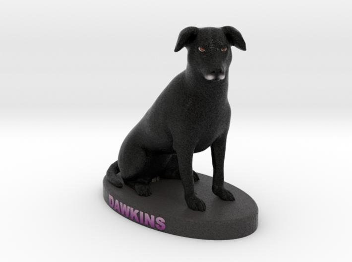 Custom Dog Figurine - Dawkins 3d printed