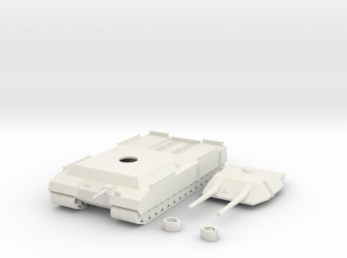 P 1000 Ratte Landkreuzer 1/200 scale 3d printed