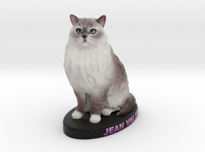 Custom Cat Figurine - Jean 3d printed