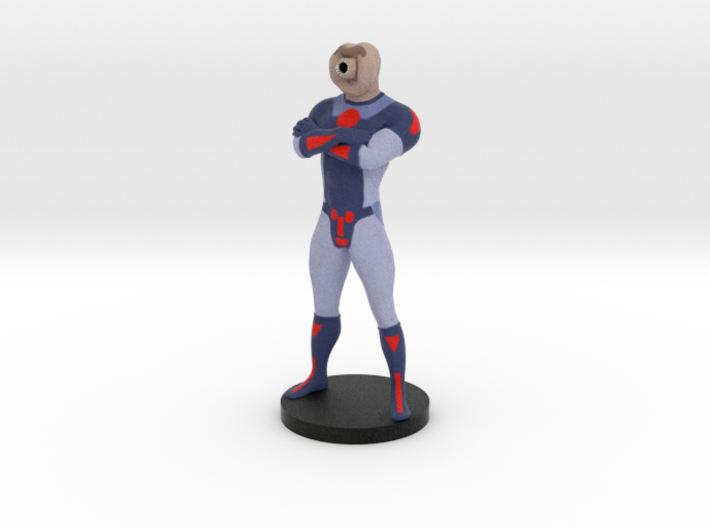 Captain Tardigrade 3d printed