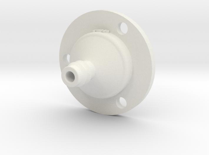 Drip Nozzle (3/8 Inch, 3 Holes) - 3Dponics 3d printed