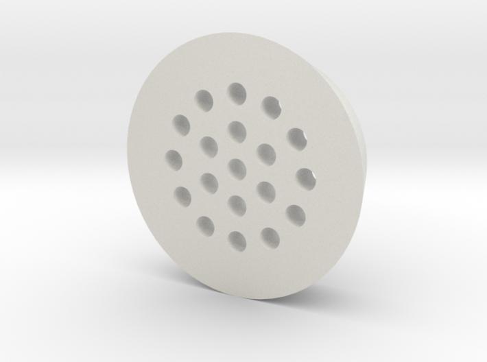 Drain Cap - 3Dponics Drip Hydroponics 3d printed