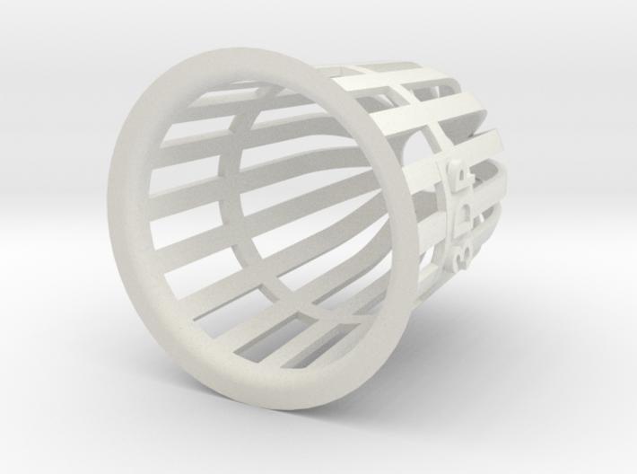 Planter (Round) - 3Dponics 3d printed