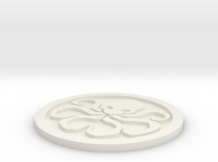 Hydra Logo 3d printed