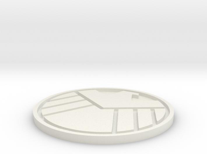 S.H.I.E.L.D. Logo 3d printed