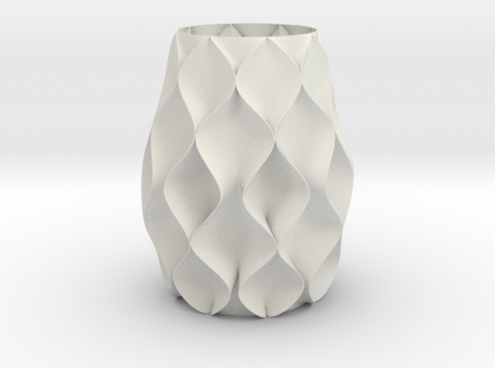 Ripple Vase 3d printed