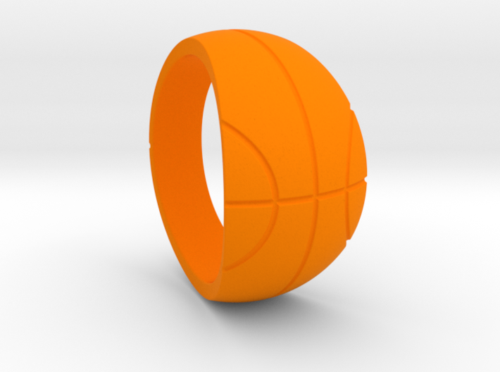 Size 9 Basketball Ring 3d printed
