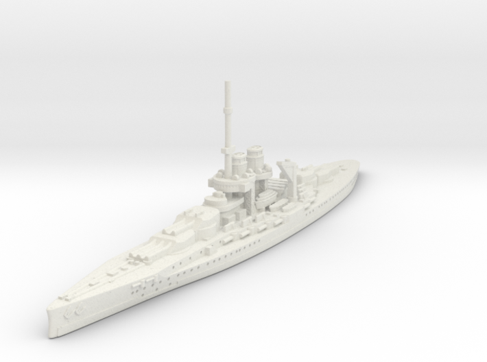 1/1800 Ersatz-Monarch (Austria-Hungary) 3d printed