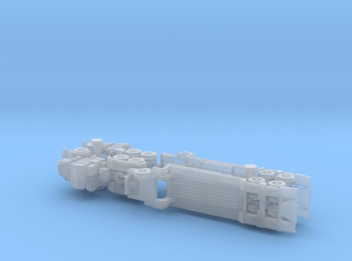 Faun 912 SA Tank Transporter 1/285 6mm 3d printed