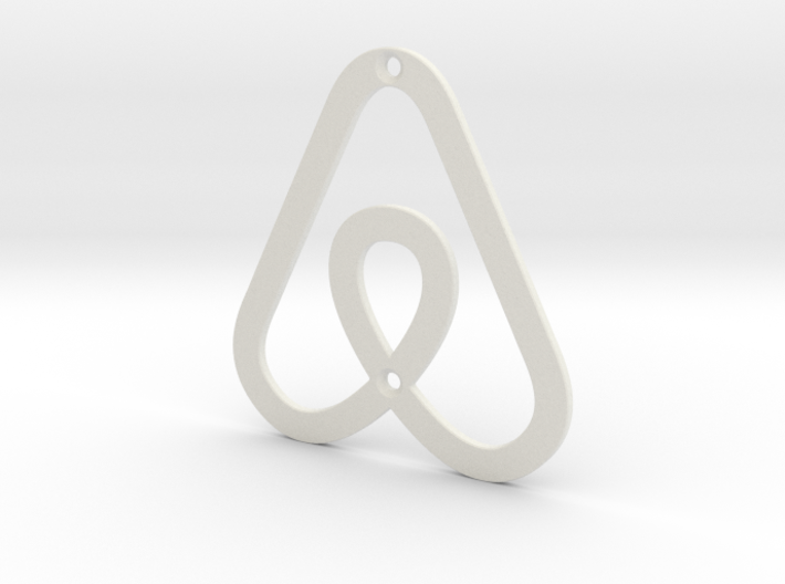 Airbnb House Symbol 3d printed