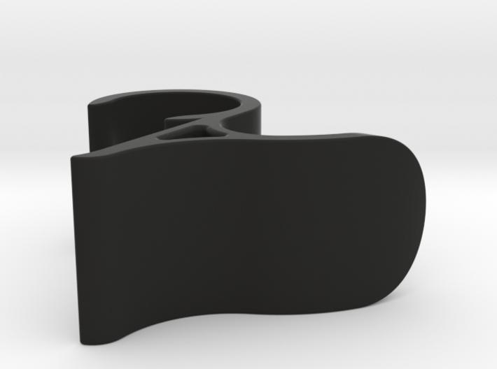 Hanger for heated towel rack 3d printed