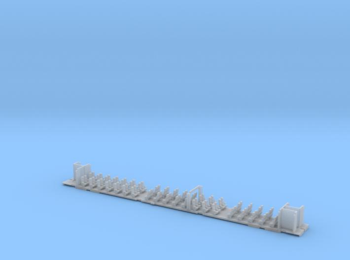 Inneneinrichtung Interex 2. Klasse TT 1:120 3d printed