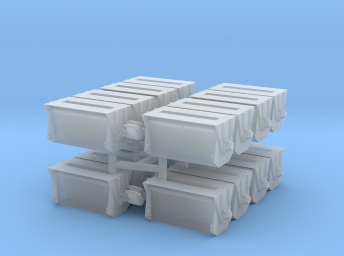 #2 Ballast Gate Miner Type Short [4 Cars] 3d printed