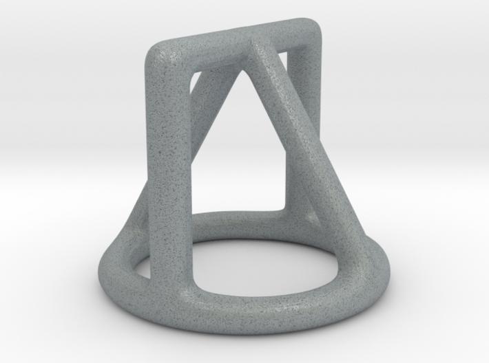 Shape Sorter Circle, Triangle Square Pendant 3d printed