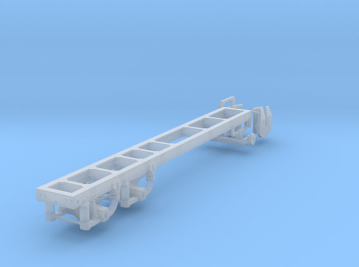 1/87th Long Truck Frame air ride Chassis 3d printed