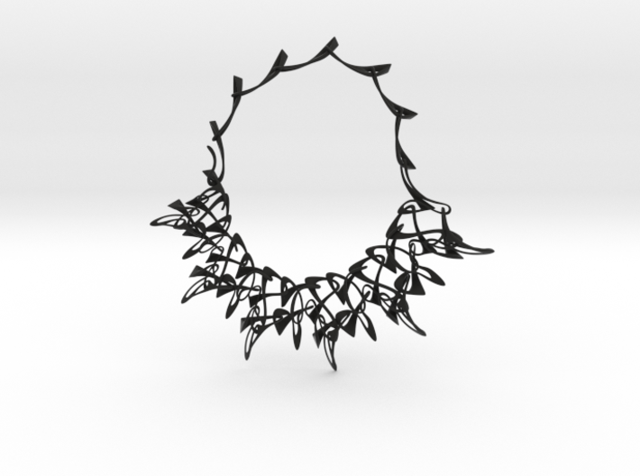 Counterpoint Necklace 3d printed