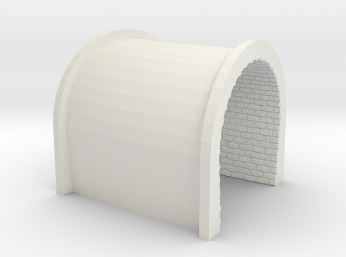 NmT21 Tunnel portal for meter gauge - P 3d printed