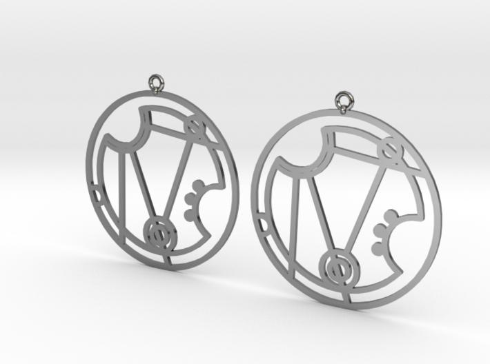 Nerissa - Earrings - Series 1 3d printed