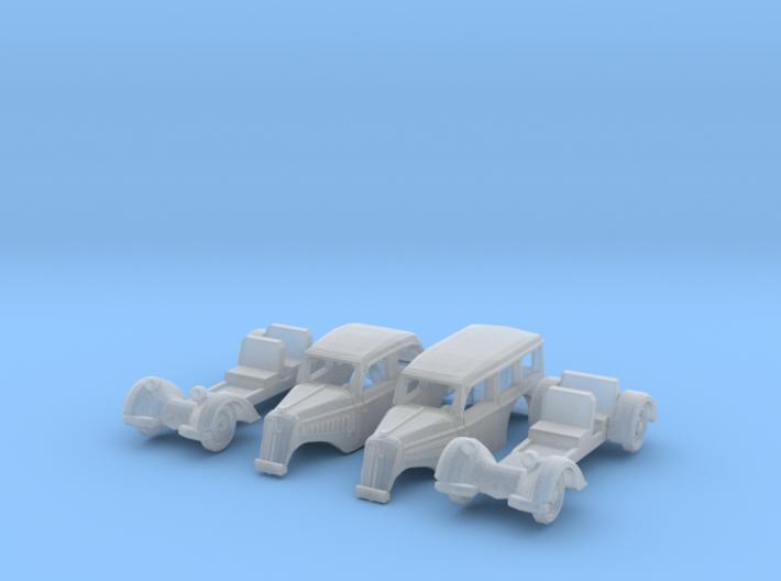 SET 2x IFA F8 (TT 1:120) 3d printed