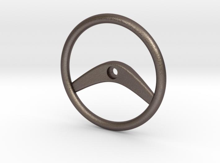 1/10th scale Steering Wheel 3d printed