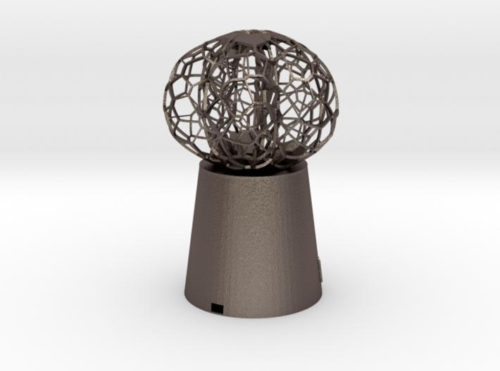5 petal mini Lamp 3d printed
