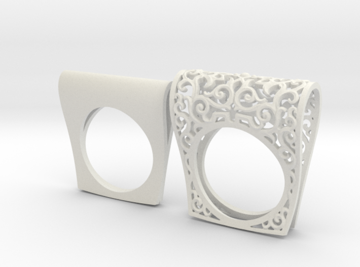 Ring Ornament 3d printed