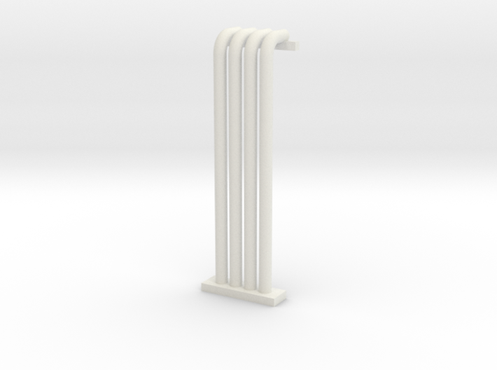 N Scale Pipe Rack Riser From Ground To 28mm 3d printed