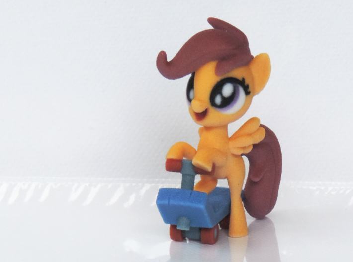 Scootaloo 3d printed