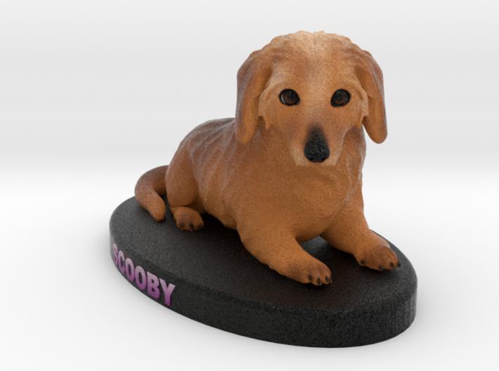 Custom Dog Figurine - Scooby 3d printed