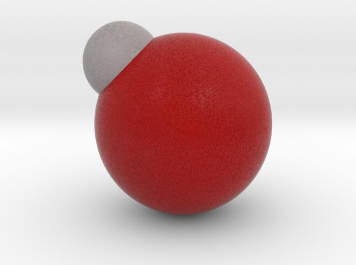 Hydroxyl radical 3d printed