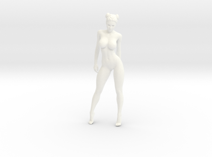 Sexy naked girl 009 scale 1/24 Passed 3d printed