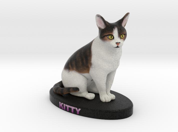 Custom Cat FIgurine - Kitty 3d printed