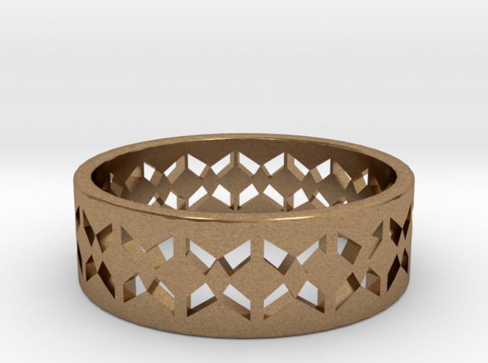 Inverse Echelon Ring Size 6 3d printed