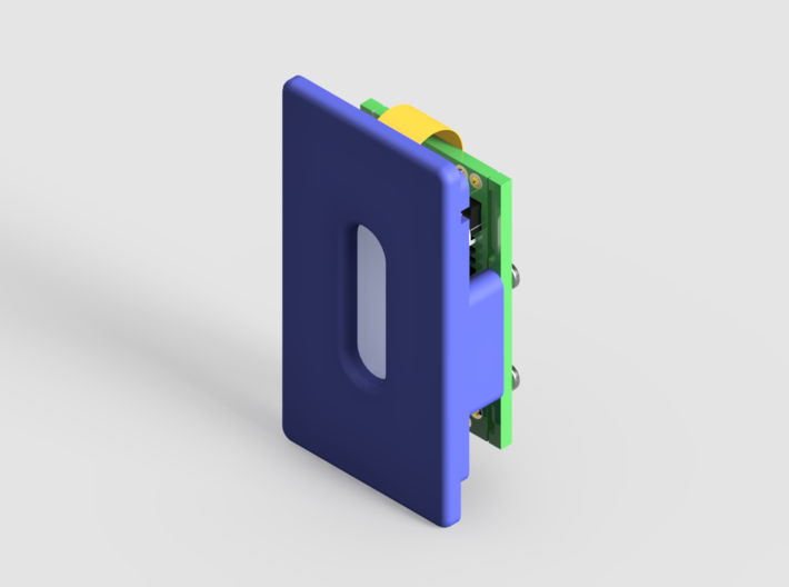 DNA25 or DNA40 Mounting Plate 3d printed