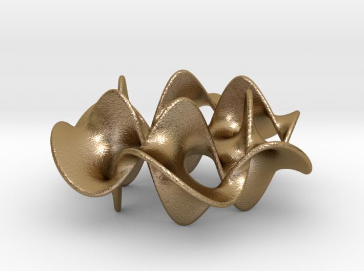 Hexagram 2 (2 in) 3d printed
