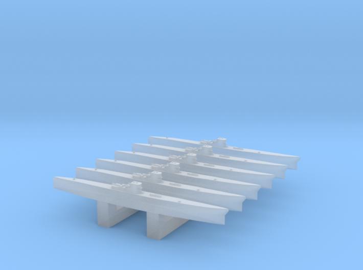 Type IXC U-Boat 1/4800 x6 3d printed