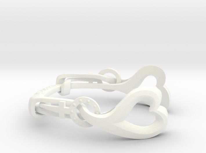 VENUSHAWN Bracelet 3d printed