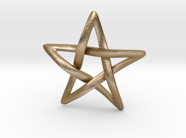 Star Ever Pendant 3d printed