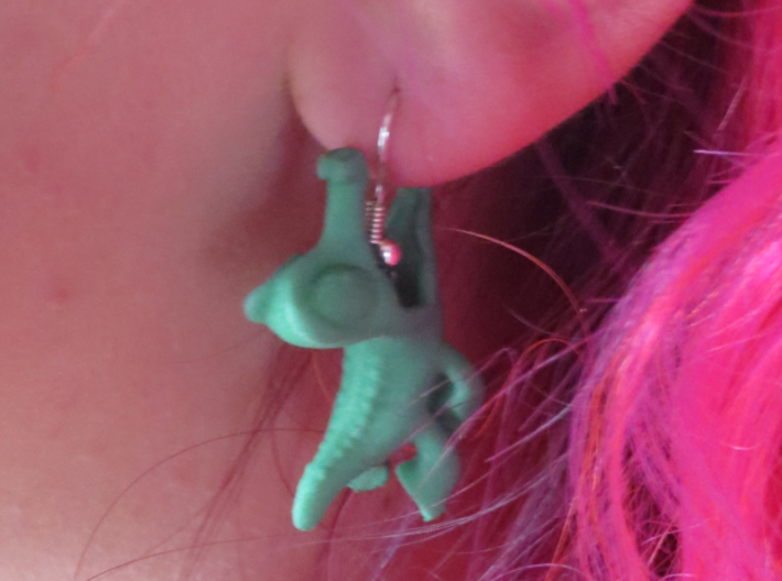 Gummy Earring 3d printed