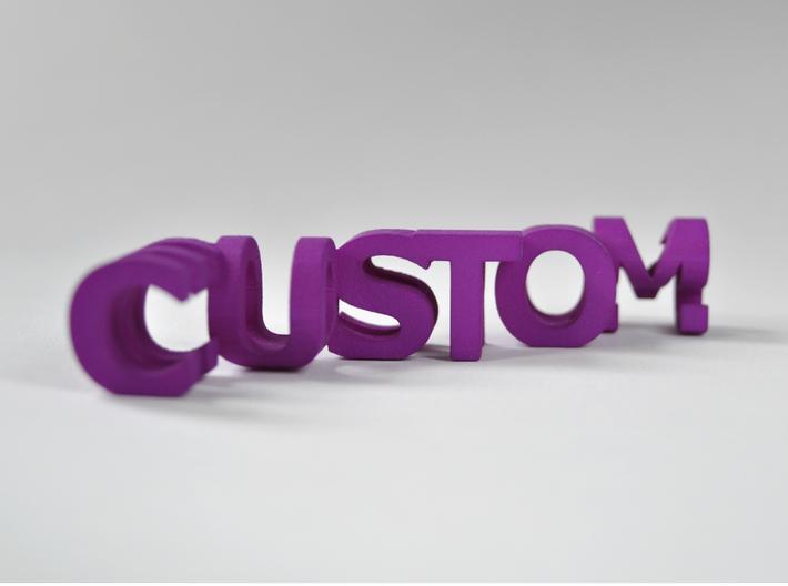 FontFlip (Customizable) 3d printed
