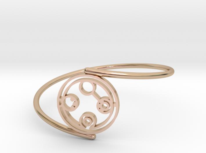 Belinda - Bracelet Thin Spiral 3d printed