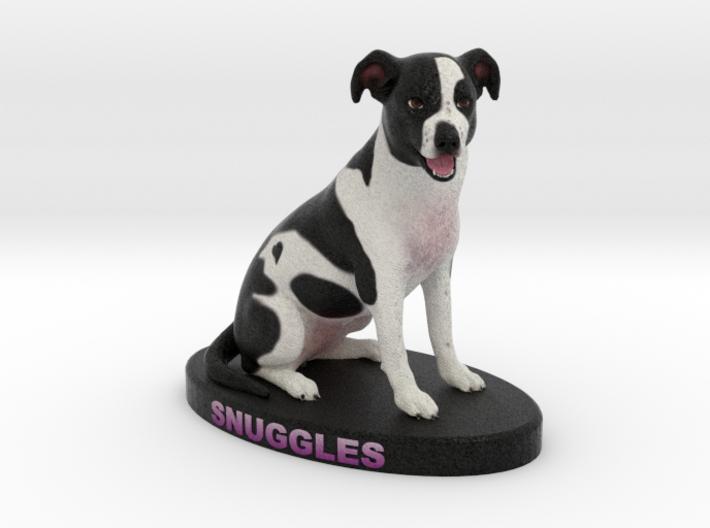 Custom Dog Figurine - Snuggles 3d printed